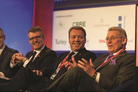 Peter Burns (CBRE) David Atkins (Hammerson) Craig McWilliam (Grosvenor) Tony Pidgley CBE (Berkeley)